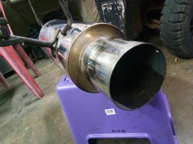 Mufler HKS turbo exhaust sr20