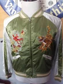 Jacket sukajan hijau