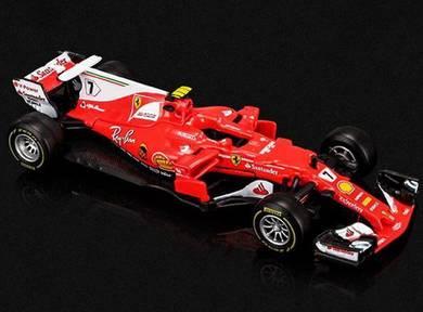 Kimi Matias Raikkonen 7 F1 Ferrari Car toy 11.5cm