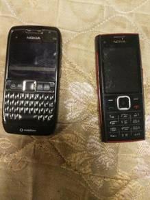 Nokia e71 & nokia x2