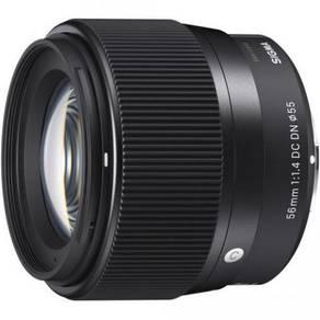 (NEW) Sigma 56mm F1.4 Lens for Sony E Camera