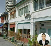 Georgetown off macalister LORONG SUSU 762SF 2styTerrace Commercial Use