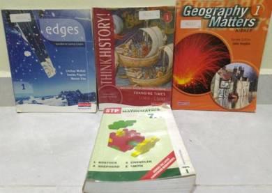 IGCSE Year 7 Textbooks