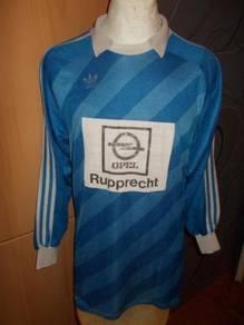Vintage Adidas LS Collar Keeper West Germany vtg