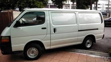 2005 Toyota HIACE (M) Panel Van