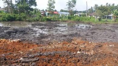 Tanah Freehold Tepi Jalan Serkam