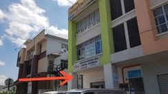 End lot Ground Floor Good Condition Shop Kepayang S2 Seremban