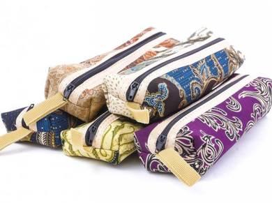 Doorgift Cenderahati - Kotak Pensil Batik