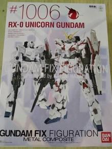 Rx-0 unicorn gundam fix figuration metal composite