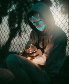 Battery AA Led Mask