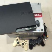 SONY PS3 320GB console and PS MOVE package