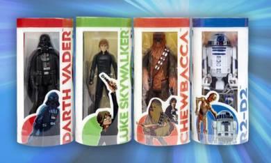 Hasbro star wars set of 4