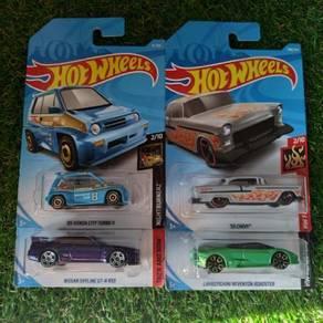 Hot Wheels Hotwheels lot set 4pcs