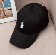Korean Style Finger Love Embroidery Baseball Cap