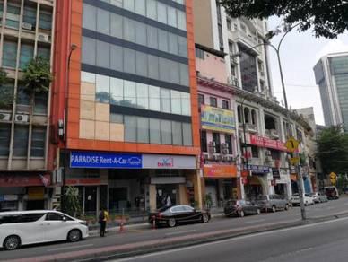 Wisma Paradise, Jalan Ampang, KL, Ground Flr Shop, 8th Flr Office