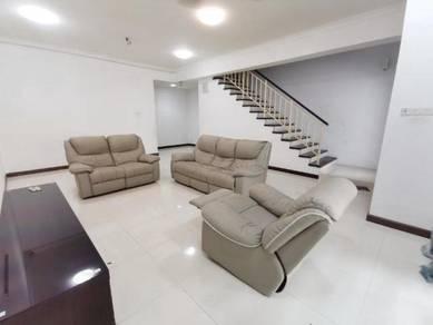 Taman Meranti Jaya 2 Puchong 2.5 Storey Terrace House Partly Furnished