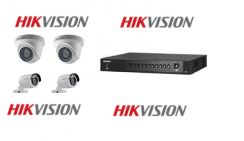 Hikvision 2mp full hd1080p cctv installation