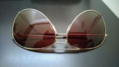 H&M dual tone men's aviator shades