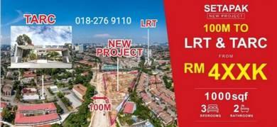 KL Setapak Walking To University LRT High Rental Return Zero DP