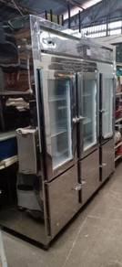 Used chiller freezer 6 doors forsale