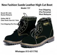 New Men's Fashion Suede Leather Boot 737