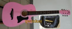 Acoustic Guitar 38Inch A&K #010 Pink