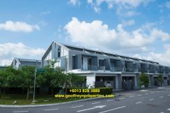 Luxury Super-link Home Gated & Guarded Double Storey, Tabuan Stutong
