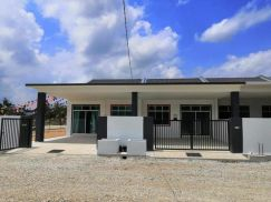 KG PADANG 1 Storey Terrace (Freehold/4 Room) Jalan Sungai Lembing