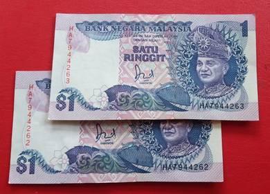 $1 Jaafar Hussein HA7944262-62 (2 pcs)