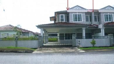 Corner 3913sf || Double Storey Terrace Uni Garden Samarahan Sarawak