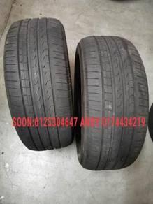 Used 245/45/18 Pirelli runflat tyre tire tayar BMW