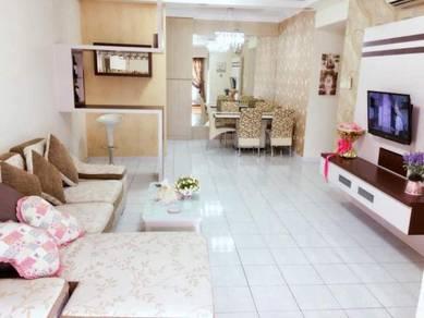 3 bedrooms Permas Ville, PERMAS JAYA (FULL LOAN, with Renovated)