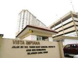 GOOD LOCATION & GOOD FOR INVESTMENT Vista Impiana Seri Kembangan