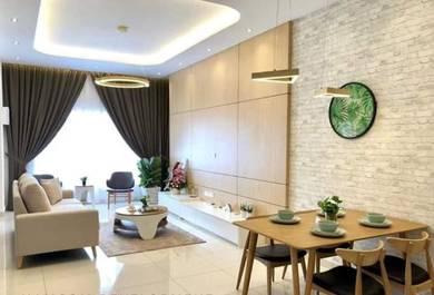 Rumah teres 2 tingkat promosi hebat dibuka untuk jualan