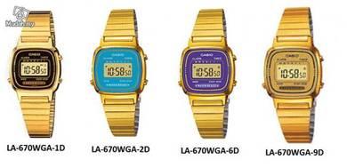Casio LA-670WGA Original Genuine Watch