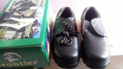 FRONTIER Safety Shoes (Steel Toe) Size 8