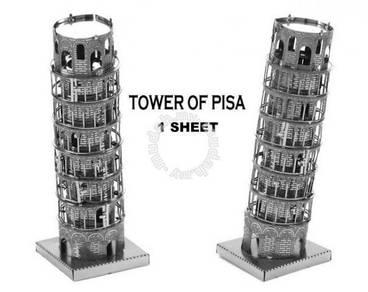 ZOYO 3D Nano Metal Puzzle Puzzles Pisa Tower