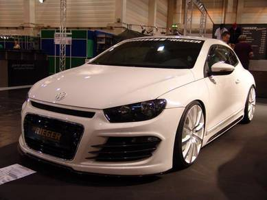 Rieger Style Full Bodykit - Vw Scirocco