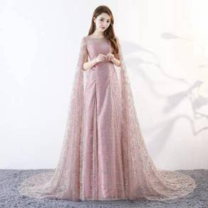 Pink wedding bridal prom dress gown RB0469