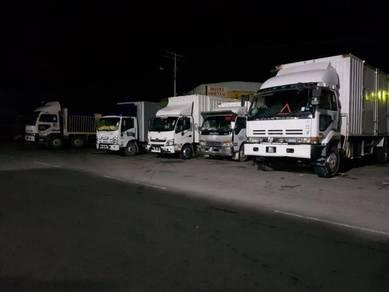 Pindah rumah angkat barang lori lorry sewa