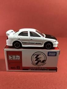 Tomica Event Model No6 Mitsubishi Lancer Evolution