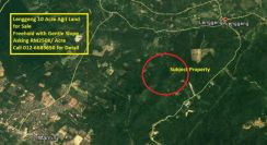 Lenggeng, Mantin Agriculture Land, Freehold with Access Road