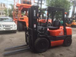 JAPAN Fully Import TCM 3 ton DIESEL FORKLIFT AUTO