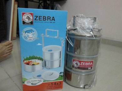 Zebra Tiffin Carrier