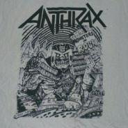 Vintage Anthrax No Frill No2 T Shirt