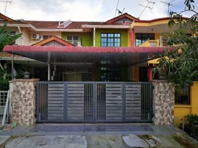 Double Storey (Fully Reno) for Sale, Pauh Jaya Prai, Penang