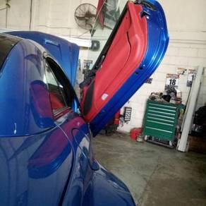 Mercedez BMW scissors door damper