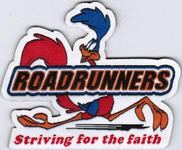 RoadRunners Looney Tunes Striving Cartoon Patch