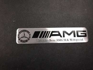 Mercedes amg slk emblem logo