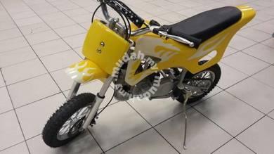 Dirt bike Scramler 49cc JB yellow white)/;[